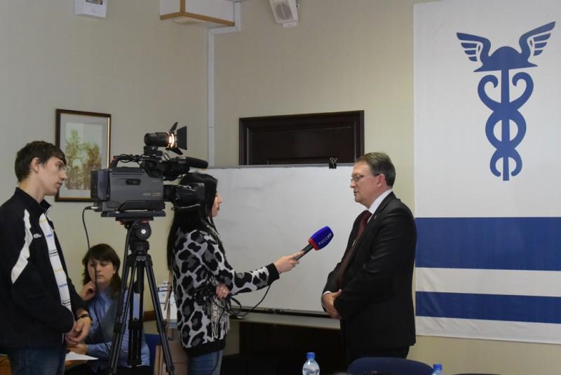 Интервью с вице-президентом Торгово-промышленной палаты Российской Федерации Дмитрием Николаевичем Курочкиным.
